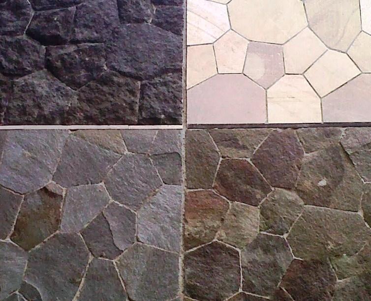 tekstur keramik batu alam