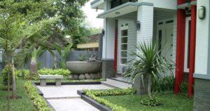 tips mendesain halaman rumah minimalis dan elegan