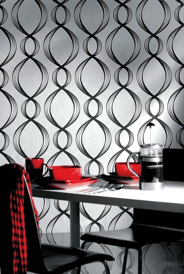 Wallpaper dengan Ornament Oriental